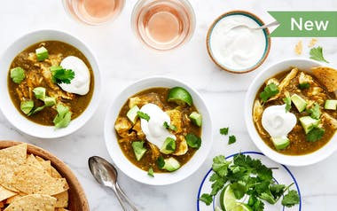 Quick Chicken Chili Verde