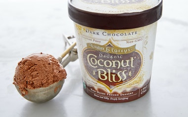 Organic Vegan Dark Chocolate Coconut Ice Cream
