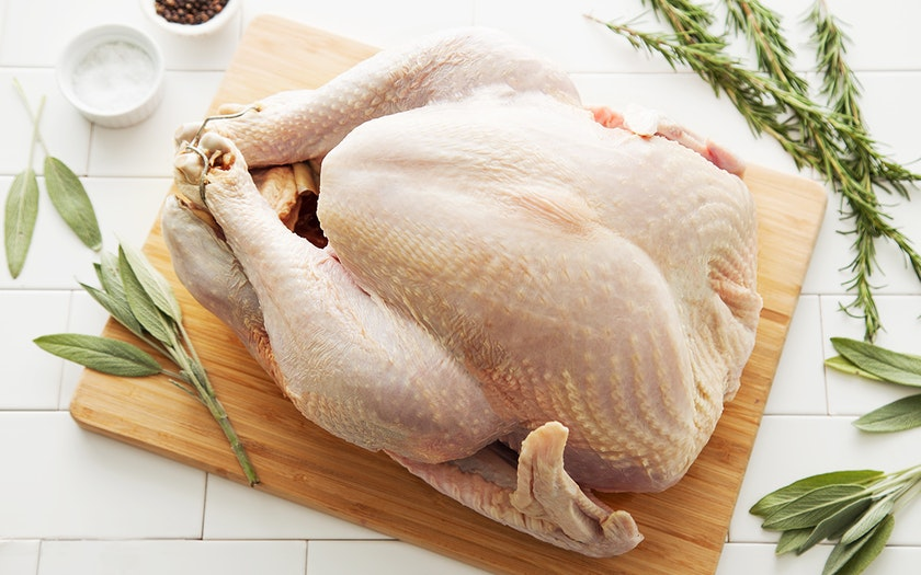 Broad Breasted Turkey (14-16 lb, Frozen)