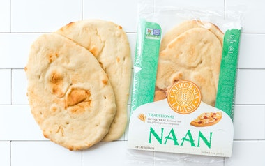 Traditional Naan