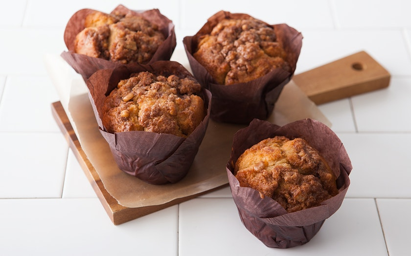 Gluten-Free Streusel Muffins Four Pack