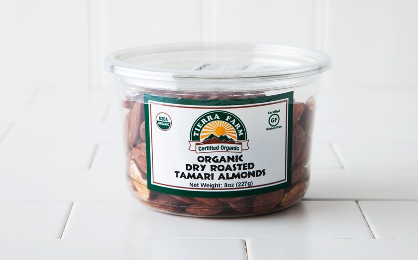 Organic Dry-Roasted Tamari Almonds