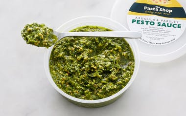 Arugula Parsley Pesto Sauce