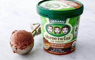 Organic Bittersweet Chocolate Ice Cream