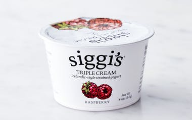 Triple Cream Raspberry Icelandic Yogurt