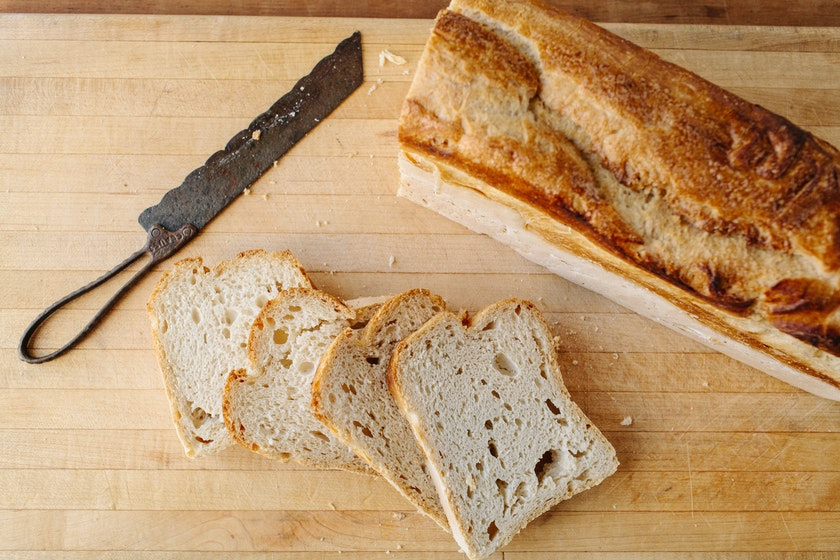 Gluten-Free Sourdough Pullman Loaf