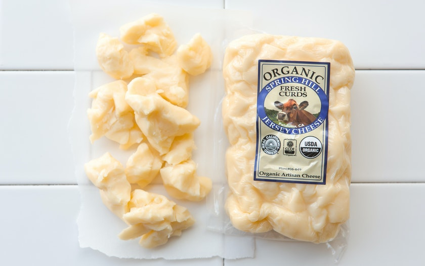 Organic Plain Fresh Curds