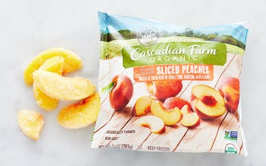 Organic Frozen Sliced Peaches