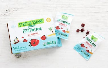 Organic Strawberry Fruit Bites