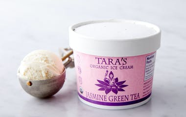 Organic Jasmine Green Tea Ice Cream