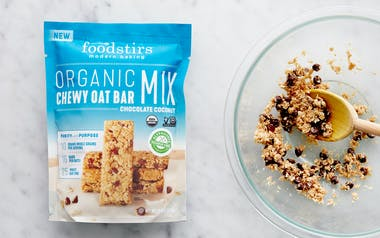 Organic Chocolate Coconut Chewy Oat Bar Mix