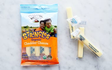 Organic Cheddar Cheese Snack Sticks