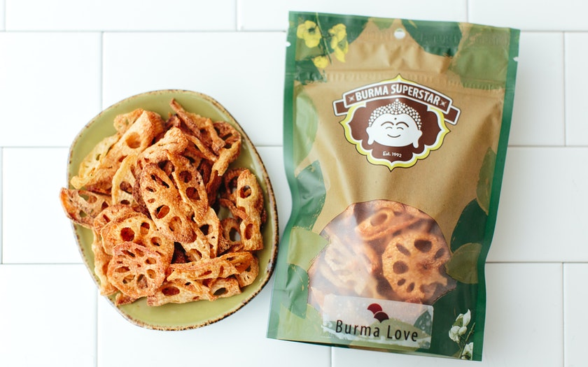 Hand-Cut Lotus Chips