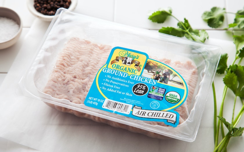 Organic Ground Chicken (Frozen)