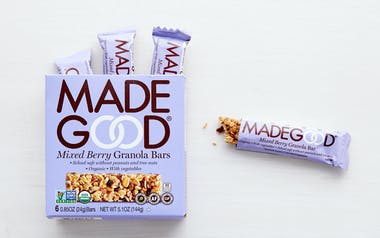 Organic Mixed Berry Granola Bars