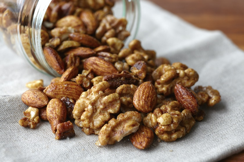 Gluten-Free Orange Spiced Mixed Nuts