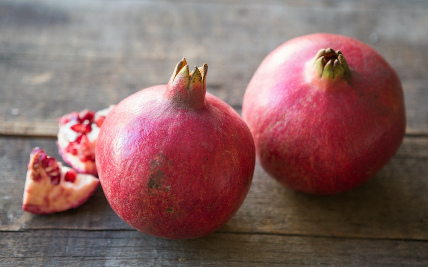 Organic Wonderful Pomegranates