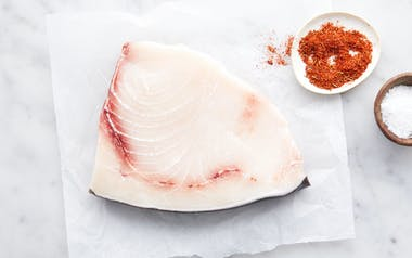 Half Pound Fresh Wild California Swordfish