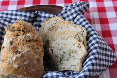 Gluten-Free Kale Sourdough Loaf
