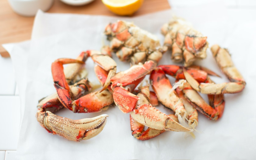 Clean & Cracked Dungeness Crab