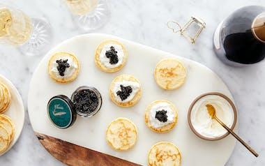 Champagne & Caviar Kit