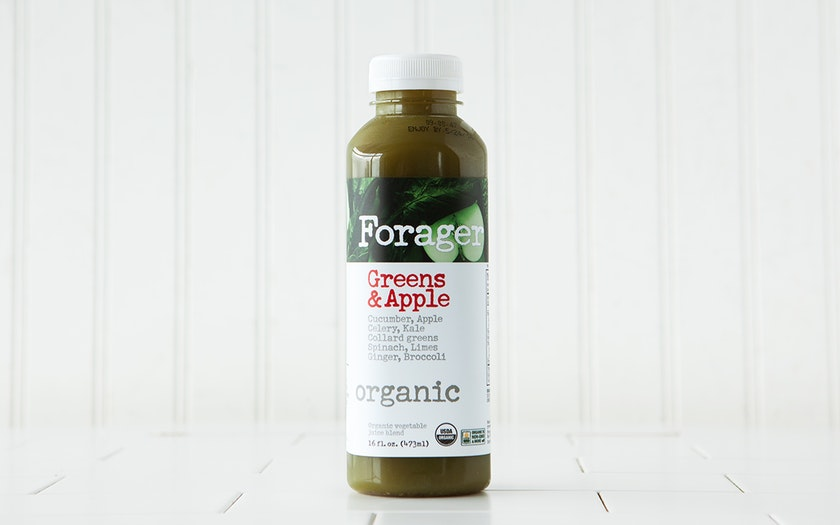 Organic Greens & Apple