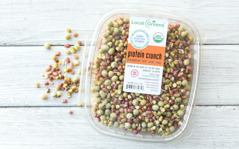 Organic Protein Crunch (Sprouted Mixed Beans)