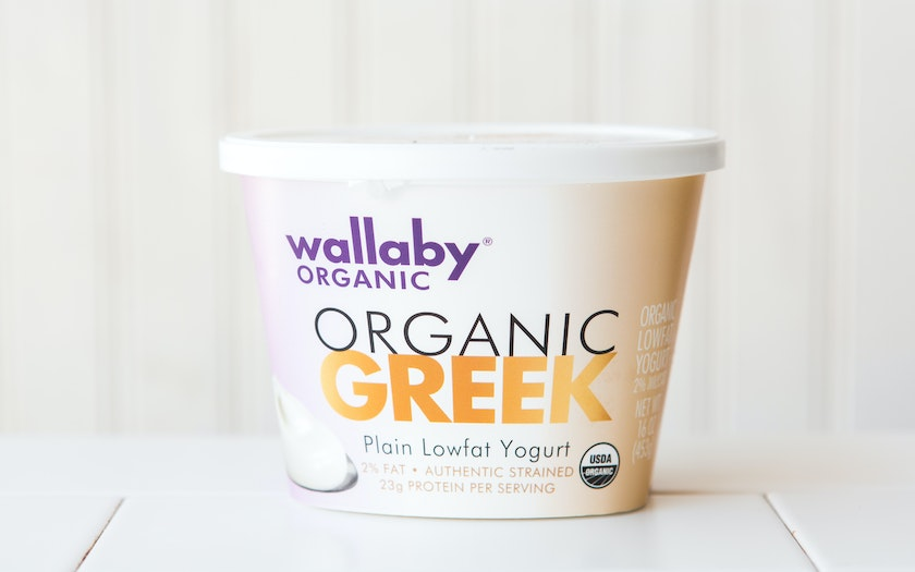 Organic Lowfat Plain Greek Yogurt