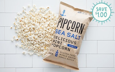 Mini Sea Salt Popcorn (Gluten-Free)