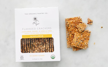 Organic Sunflower Flaxseed Crackers