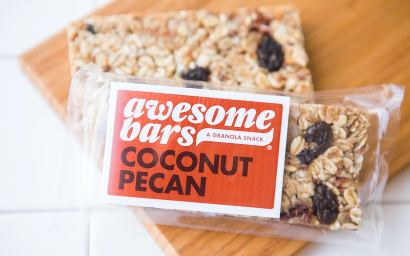 Coconut Pecan Awesome Bar