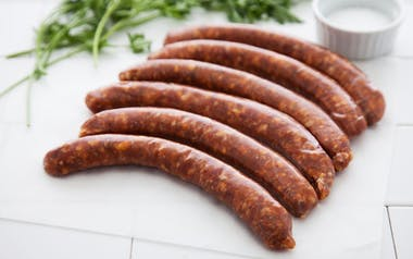 Grass-Fed Lamb Merguez Sausage (Frozen)
