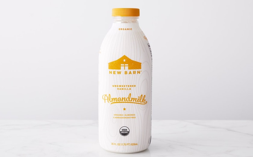 Organic Unsweetened Vanilla Almond Milk New Barn Sf Bay Good Eggs