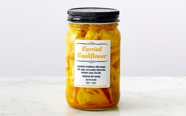 Pickled Curried Cauliflower
