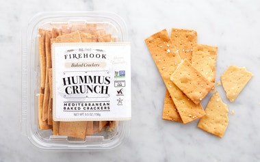 Hummus Crunch Baked Crackers