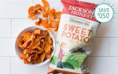 Sweet Potato Coconut Oil Chips