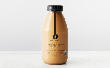 Organic Cold Brew Coffee Almond Milk