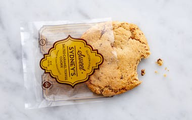Gluten-Free Salted Caramel Toffee Cookie