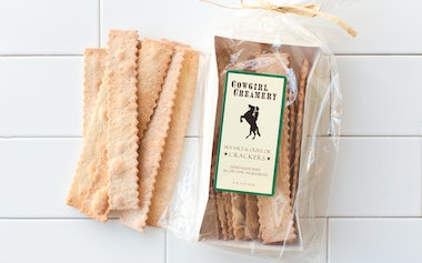 Sea Salt & Olive Oil Crackers