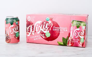 Pomegranate Green Tea Organic Sparkling Water