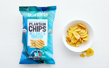 Organic Sea Salt & Vinegar Plantain Chips