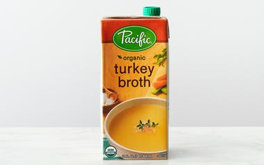Organic Free Range Turkey Broth