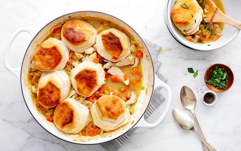Chicken Pot Pie with Biscuits - Good Eggs Kitchen - SF Bay ...