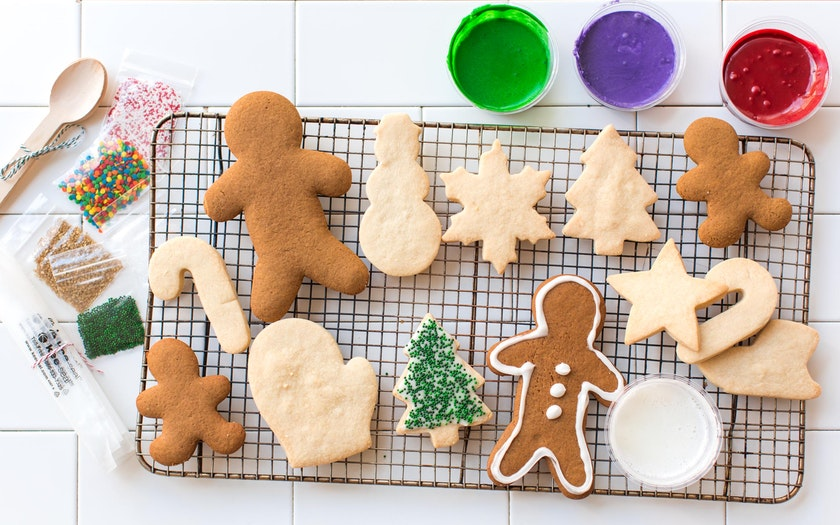 Christmas Cookie Decorating Kit.Christmas Cookie Decorating Kit Batter Bakery Sf Bay