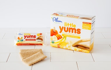 Organic Pumpkin & Banana Teething Wafers