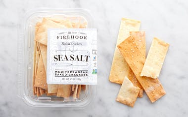 Sea Salt Baked Crackers