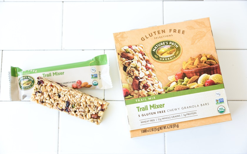 Gluten-Free Trail Mixer Bars