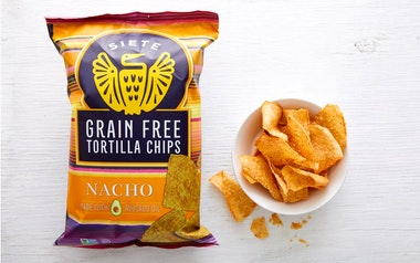 Grain-Free Nacho Tortilla Chips
