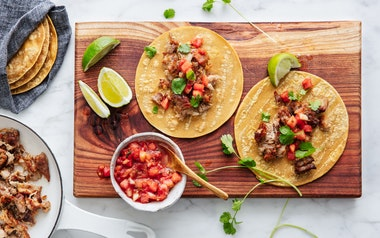 Simple Carnitas Street Taco Kit