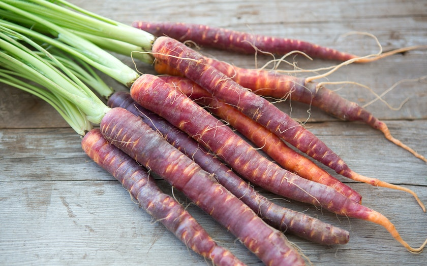 Organic Purple Carrots